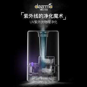 Xiaomi Deerma DEM 4 UV Purifying Air Humidifier Aromatherapy Oil Diffuser Touch Version 5L - DEM-F628S - White - 2