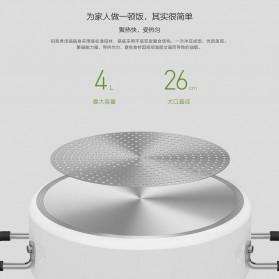 Xiaomi Zhiwu Cooking Pan Panci Masak Sup 4L - GJT02CM - White - 7