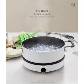 Xiaomi Zhiwu Cooking Pan Panci Masak Sup 4L - GJT02CM - White - 8