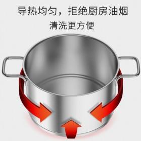 Xiaomi Zhiwu Pot Pan Panci Masak Stainless Steel 5L - GJT01CM - Silver - 4