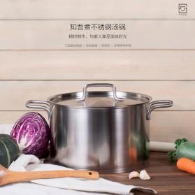 Xiaomi Zhiwu Pot Pan Panci Masak Stainless Steel 5L - GJT01CM - Silver - 7