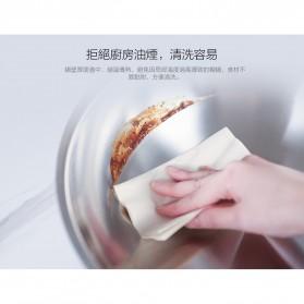 Xiaomi Zhiwut Wok Boiled Pan Panci Rebus Stainless Steel 4.4L - GJC01CM - Silver - 4