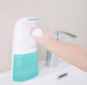 Xiaomi Xioaji Minij Dispenser Sabun Otomatis Automatic Foam Soap Handwash 250ml - White