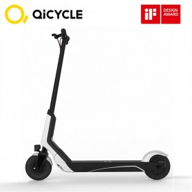 Xiaomi QiCycle EUNI ES808 Folding Electric Scooter Standard Version - White - 1