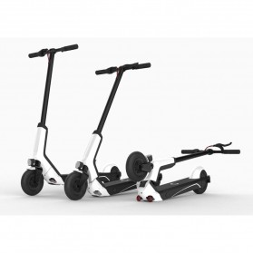 Xiaomi QiCycle EUNI ES808 Folding Electric Scooter Standard Version - White - 3