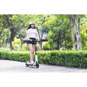 Xiaomi QiCycle EUNI ES808 Folding Electric Scooter Standard Version - White - 4