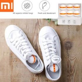 Xiaomi Youpin Deodorant Ball Penghilang Bau Sepatu 6 PCS - Orange