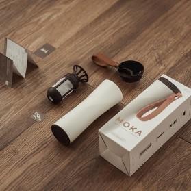 Xiaomi MOKA Botol Minum Travel Smart Coffee Tumbler OLED 430ml - S-U45CW - White - 2