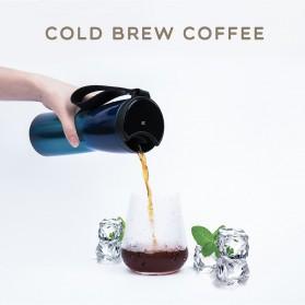 Xiaomi MOKA Botol Minum Travel Smart Coffee Tumbler OLED 430ml - S-U45CW - White - 4