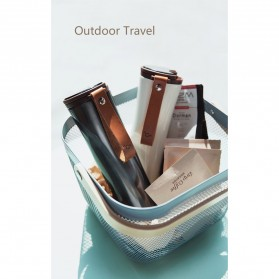 Xiaomi MOKA Botol Minum Travel Smart Coffee Tumbler OLED 430ml - S-U45CW - White - 11