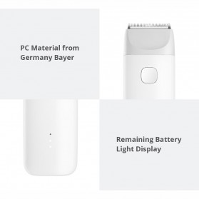Xiaomi MiTU Baby Hair Clipper Alat Cukur Bayi Portable Waterproof - DIEL0384 - White - 3