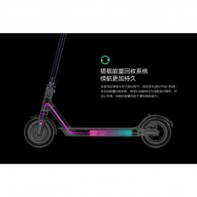 Xiaomi Mijia M365 Smart Electric Scooter Pro - DDHBC02NEB - Black - 3