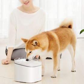Xiaomi Youpin Kitten & Puppy Automatic Pet Water Dispenser Fountain Tempat Minum Anjing Kucing - MG-WF001A - White