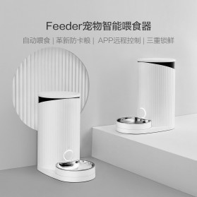 Xiaomi Furrytail Tempat Makan Hewan Peliharaan Kucing Anjing Smart Pet Feeder - White