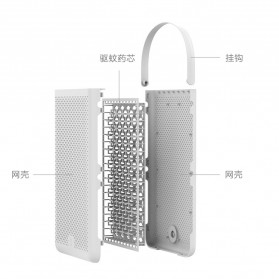 Xiaomi Mijia Pengusir Nyamuk Gantung Insect Mosquito Net Repeller - WP20180081 - White - 9