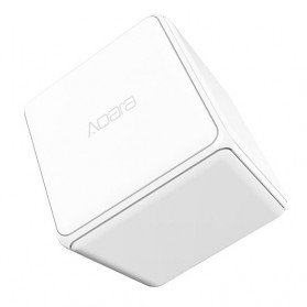 Xiaomi Mi Aqara Magic Cube Zigbee Smart Home Device Controller - MFKZW01LM - White