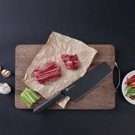 Xiaomi Mijia Huohou Pisau Dapur Kitchen Knife 2 PCS - HU0015 - Black - 5