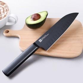 Xiaomi Mijia Huohou Pisau Dapur Kitchen Knife 2 PCS - HU0015 - Black - 9