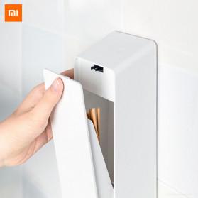 Xiaomi Youpin LIUSHU Intelligent Sterilizer UV Kotak Tempat Sumpit Sendok Garpu Elektrik - LSZCA01W - White
