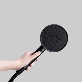 Xiaomi Mijia Dabai Diiib 3 Modes Handheld Shower 120mm 53 Water Hole - DXHS001 (HEAD ONLY) - Black