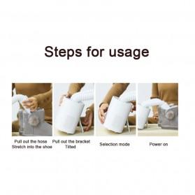 Xiaomi Deerma Sterilization Shoe Dryer Pengering Sepatu Multifungsi - DEM-HX10 - White - 9
