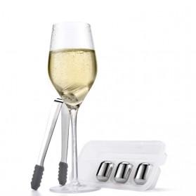 Xiaomi Mijia Circle Joy Ice Cube Es Batu Wine Pendingin Minuman Jus 304 Food Grade Stainless Steel - Silver - 2