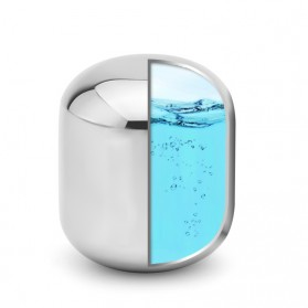 Xiaomi Mijia Circle Joy Ice Cube Es Batu Wine Pendingin Minuman Jus 304 Food Grade Stainless Steel - Silver - 7
