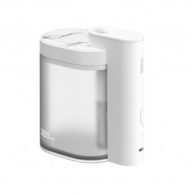 Sothing Geometry Air Humidifier Ultrasonic Purifying Aromatherapy Oil Diffuser 260ml - DSHJ-H-002 - White