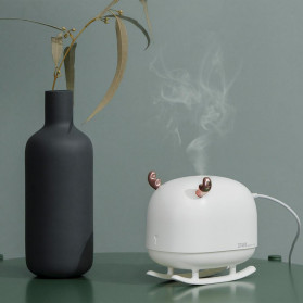 Sothing Deer Air Humidifier Aromatherapy Oil Diffuser Night Light 260ML - DSHJ-H-009 - White - 6