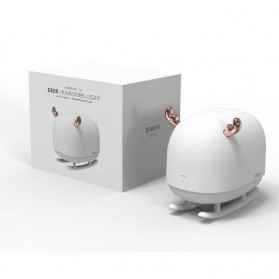 Sothing Deer Air Humidifier Aromatherapy Oil Diffuser Night Light 260ML - DSHJ-H-009 - White - 7