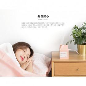 Xiaomi Milk Box Air Humidifier Ultrasonic Purifying Aromatherapy Oil Diffuser USB Charging 260ML - DSHJ-H-001 - Pink - 4