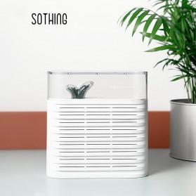 Sothing Mini Air Dehumidifier Reusable Air Dryer Moisture Absorber 150ML - DSHJ-DG-006 - White