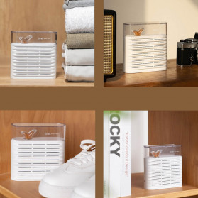 Sothing Mini Air Dehumidifier Reusable Air Dryer Moisture Absorber 150ML - DSHJ-DG-006 - White - 3
