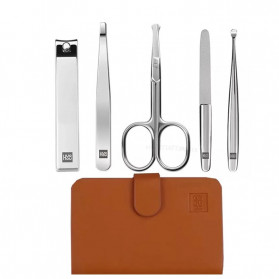 Xiaomi Mijia Huohou Set Gunting Kuku Manicure Nail Clippers Nose Hair Trimmer