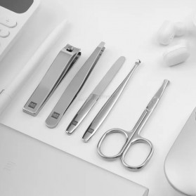 Xiaomi Mijia Huohou Set Gunting Kuku Manicure Nail Clippers Nose Hair Trimmer - 6