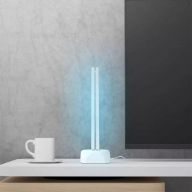 Xiaomi Youpin Huayi Lampu UV Ozone Portable Disinfektan Germicidal Lamp Sterilization - SJ01 - White - 3