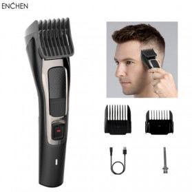 Xiaomi Enchen Sharp3S Alat Cukur Elektrik Hair Clipper Trimmer Rechargerable - Black