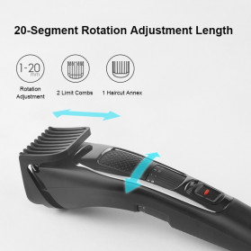 Xiaomi Enchen Sharp3S Alat Cukur Elektrik Hair Clipper Trimmer Rechargerable - Black - 4