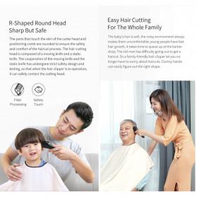 Xiaomi Enchen Sharp3S Alat Cukur Elektrik Hair Clipper Trimmer Rechargerable - Black - 5