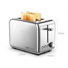 Xiaomi Deerma Alat Pemanggang Roti Bread Toaster - DEM-SL281 - Silver - 10