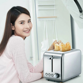 Xiaomi Deerma Alat Pemanggang Roti Bread Toaster - DEM-SL281 - Silver - 2