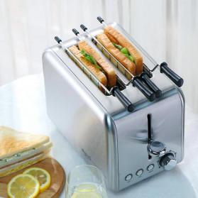 Xiaomi Deerma Alat Pemanggang Roti Bread Toaster - DEM-SL281 - Silver - 3