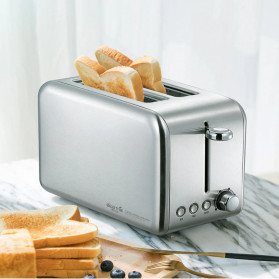 Xiaomi Deerma Alat Pemanggang Roti Bread Toaster - DEM-SL281 - Silver - 6