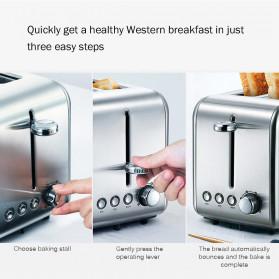 Xiaomi Deerma Alat Pemanggang Roti Bread Toaster - DEM-SL281 - Silver - 7