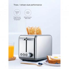 Xiaomi Deerma Alat Pemanggang Roti Bread Toaster - DEM-SL281 - Silver - 8