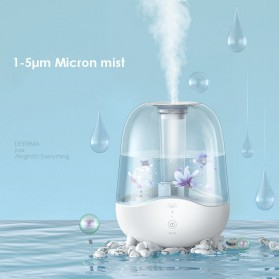 Xiaomi Deerma Pelembab Udara Air Humidifier Aroma Diffuser Ultrasonic Purifying Dust Filter 5L - DEM-F325 - White - 4