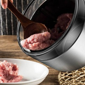 Xiaomi Deerma Blender Penggiling Daging Meat Grinder Stainless Steel 1800ml - Dem-JR01 - Silver - 4