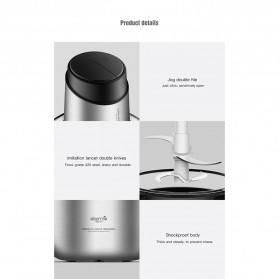 Xiaomi Deerma Blender Penggiling Daging Meat Grinder Stainless Steel 1800ml - Dem-JR01 - Silver - 7