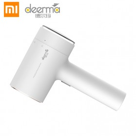 Xiaomi Deerma Setrika Uap Portable Handheld Cloth Iron Steamers - DEM-GT100 - White