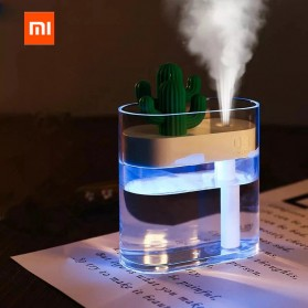 Xiaomi Mijia Sothing Ultrasonic Air Humidifier Pelembab Udara Desain Kaktus 160ML- 319 - White